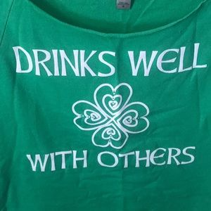 Next Level Apparel Tops - St. Patrick's day top